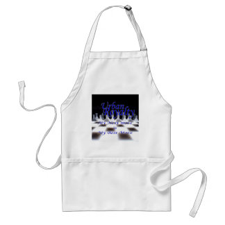 Urban Royalty Best Move Blue Adult Apron