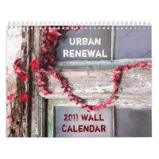 Urban Rustic Ivy 2011 Wall Calendar