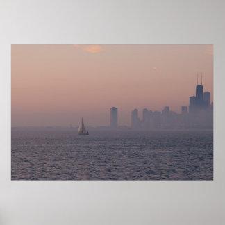 Urban Sailing Poster