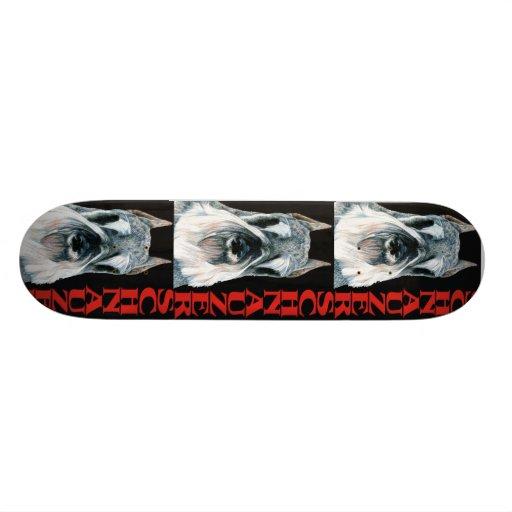 Urban Schnauzer Dog Design Skate Board Decks