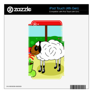 Urban sheep iPod touch 4G decals