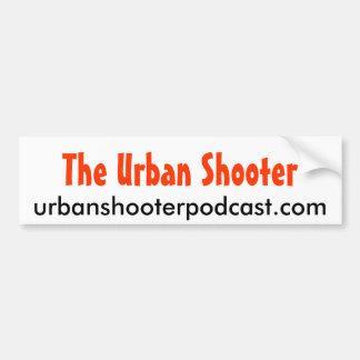 Urban Shooter bumpersticker 2 Car Bumper Sticker
