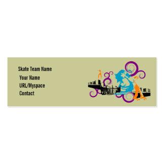 Urban Skate Profile Card Business Card Templates