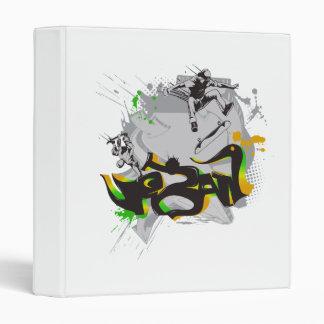 urban skateboard graffiti binder