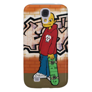 Urban Skateboarder Samsung Galaxy S4 Case