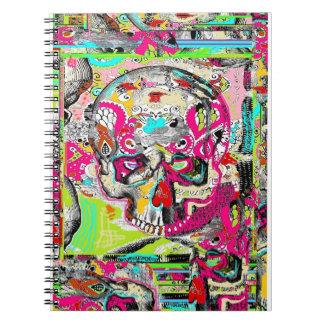 Urban Skull Art Notebook