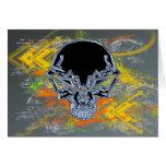 Urban Skull Card