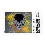 Urban Skull Postage