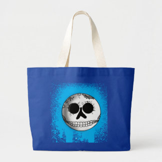Urban Skull Smiley Tote Bag