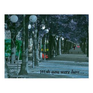 Urban Solitude Postcard