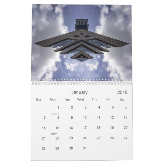 Urban Spaceships Calendar