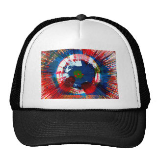 Urban Spin Art Mesh Hat