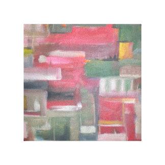 Urban Sprawl II Stretched Canvas Print