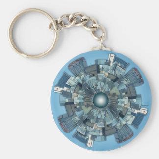 Urban Sprawl Keychain