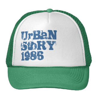 UrBaN StoRY 1986 Fitted Trucker Hat