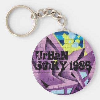 UrBaN StoRY 1986 Key Chain