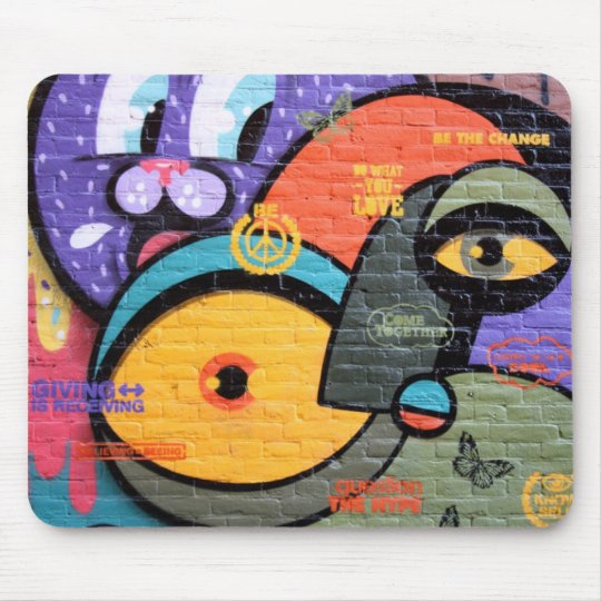 Urban Street Art-Graffiti Mouse Pad