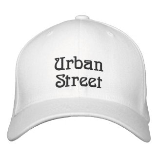 Urban Street Embroidered Baseball Hat