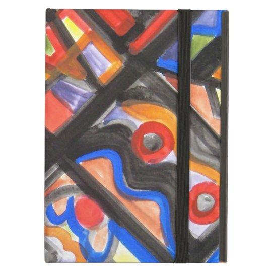 Urban Street One-Abstract Art Geometric iPad Air Cover