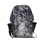Urban Street Style Circuit Board Grunge Pattern Small Messenger Bag