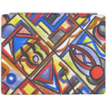 Urban Street Two - Abstract Art Handpainted iPad Cover