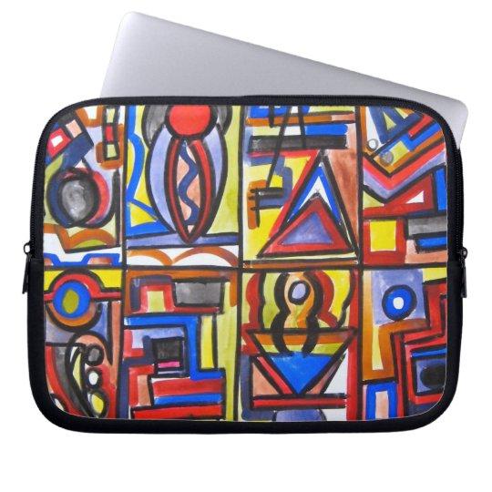 Urban Street Two - Abstract Art Laptop Sleeve