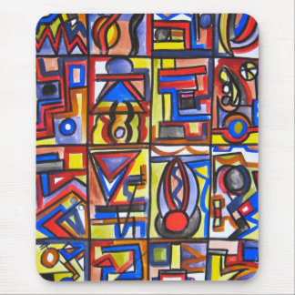 Urban Street Two - Abstract Art Mousepad