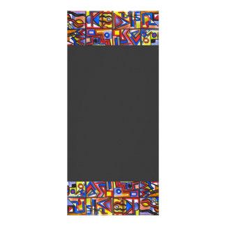 Urban Street Two - Abstract Art Rack Card