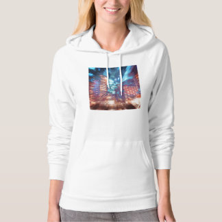 Urban Structures Abstract Hoodie