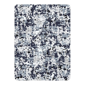 Urban Style Digital Camouflage Decor Card