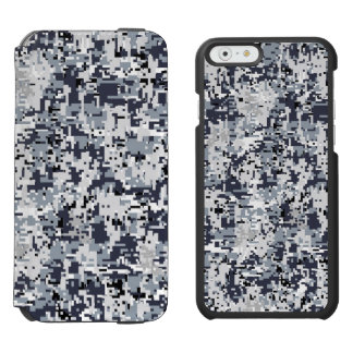 Urban Style Digital Camouflage Decor iPhone 6/6s Wallet Case