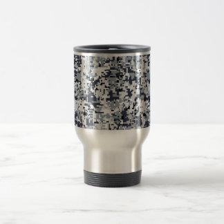 Urban Style Digital Camouflage Travel Mug
