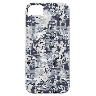 Urban Style Silver Digital Camouflage Decor iPhone SE/5/5s Case