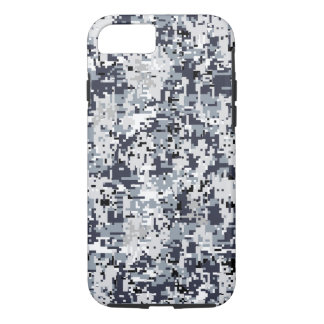 Urban Style Silver Digital Camouflage iPhone 8/7 Case