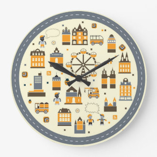 Urban subjects large clock