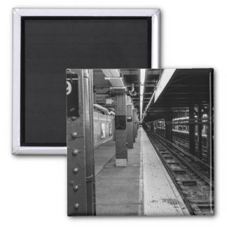 Urban Subway photo Magnet