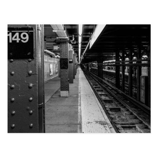 Urban Subway photo Postcards