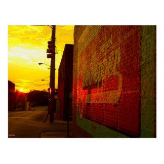 Urban Sunrise Postcard