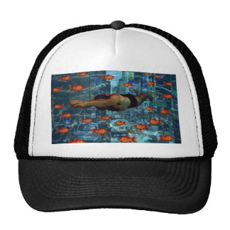 Urban swimmers trucker hat