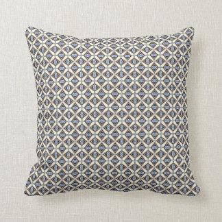 Urban Symmetry Design Throw Pillow - Modern Tapa