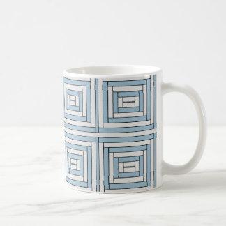 Urban Symmetry Mug-Urban Patchwork Coffee Mug
