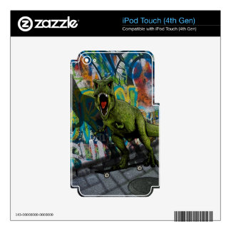 Urban T-Rex Skins For iPod Touch 4G