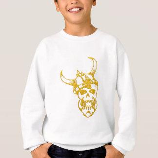 Urban t-shirt gold skull