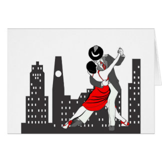 Urban tango card