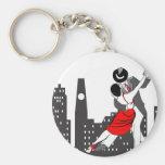 Urban tango keychains
