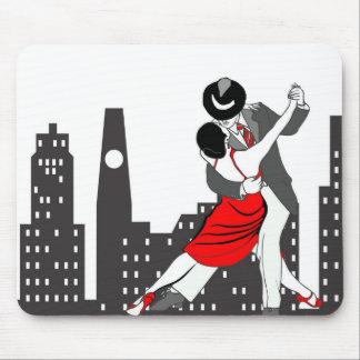 Urban tango mouse pad