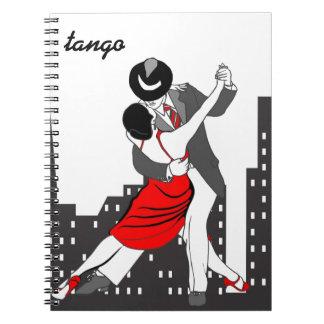 Urban tango spiral notebook