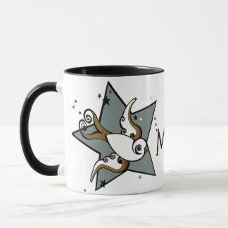 Urban Tattoo Swallow Bird Design Mug