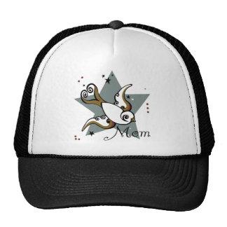 Urban Tattoo Swallow Bird Design Trucker Hat