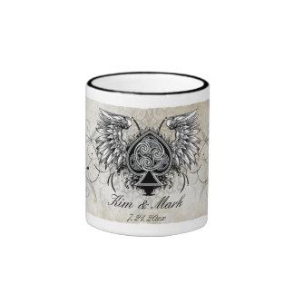 Urban Tattoo Winged Celtic Knot Mug
